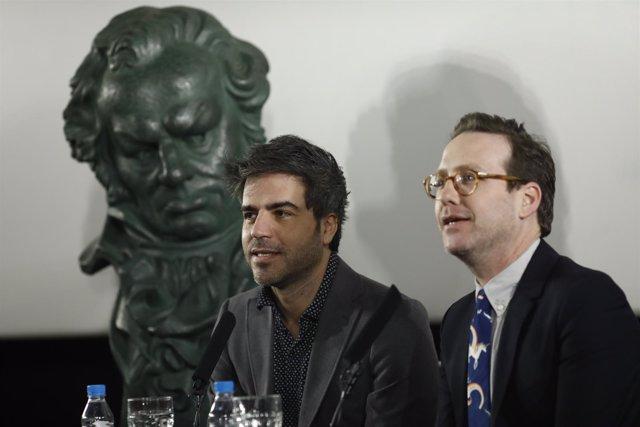 Encuentro con Joaquín Reyes y Ernesto Sevilla, presentadores de los Goya