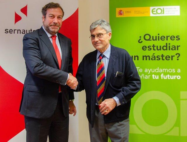 Acuerdo entre Sernauto y la Fundación EOI