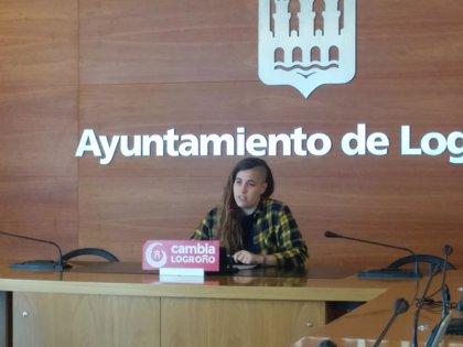 """Cambia alerta de la """"burbuja del alquiler"""" en Logroño y reclama la puesta en marcha del parque municipal de vivienda"""