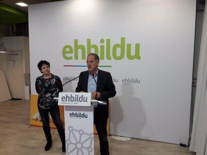 """EH Bildu pedirá en el Parlamento que el Gobierno dé """"pasos"""" para avanzar hacia un sistema navarro de pensiones"""