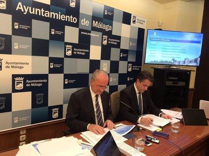 El presupuesto del Ayuntamiento de Málaga para 2018 asciende a 790 millones de euros