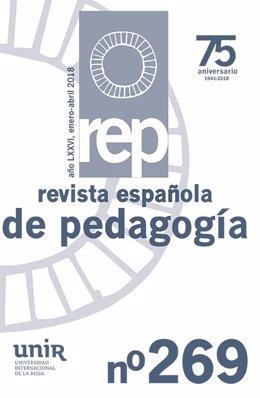 Portada Revista Pedagogía UNIR