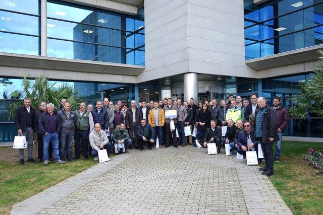 Visita de cooperativas cerealistas al Puerto de Tarragona