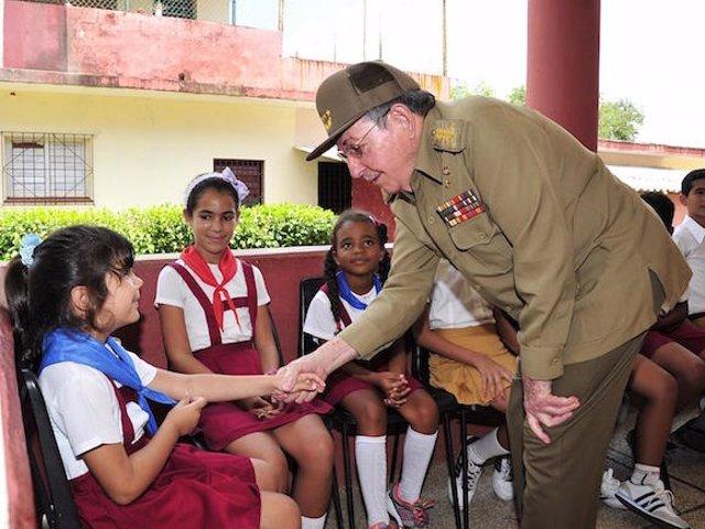 El presidente cubano, Raúl Castro