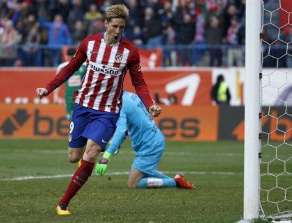 10 goles de Fernando Torres con el Atlético de Madrid