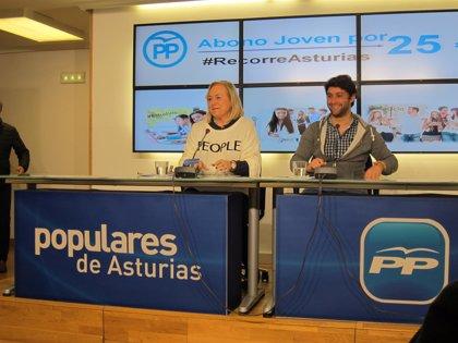 El PP presenta una enmienda a la Ley de Crédito para incluir un Abono de 25 euros para los jóvenes asturianos