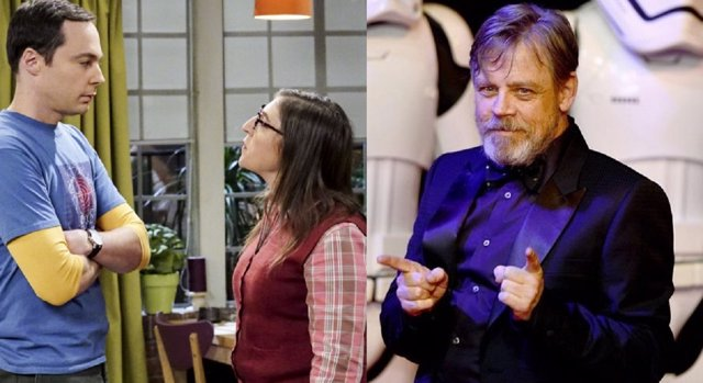 The Big Bang Theory y Mark Hamill