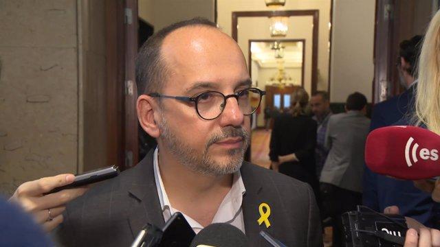 Carles Campuzano, portavoz del PDeCAT