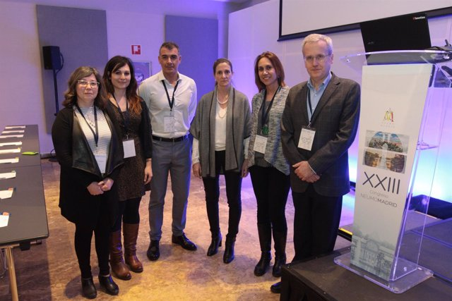 Doctores participantes en el XXIII Congreso de Neumomadrid