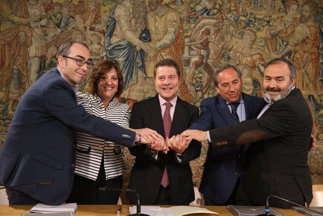 Firma del Plan de Empleo  y de Garantía