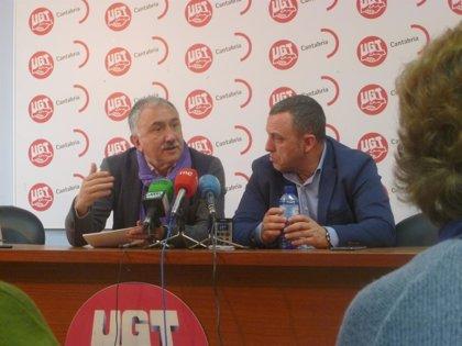 """Pepe Álvarez (UGT): """"No hay ninguna fractura en el sindicato en Cataluña"""""""