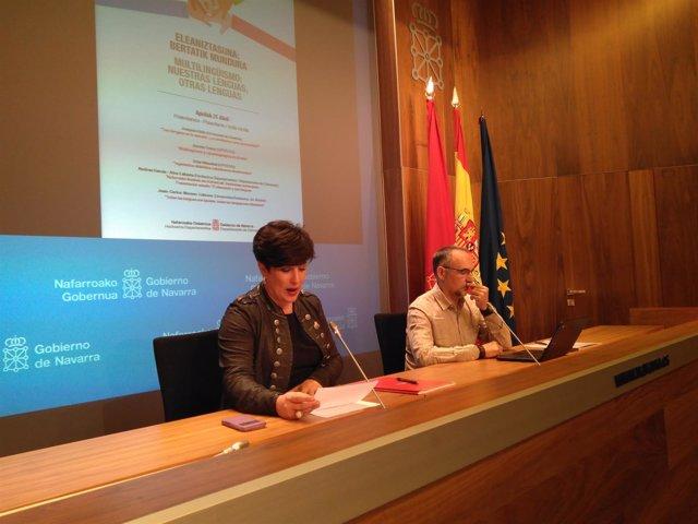 María Solana y Roberto Pérez