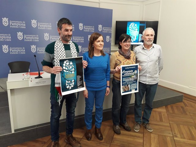 Xabier Aguirregabiria, Gema Mañú, Edurne Eguino e Iñaki Redin.