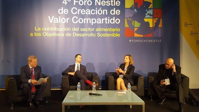 Manuel Campo Vidal, JP Leous, Mella Frewen y Josep Maria Corbinos