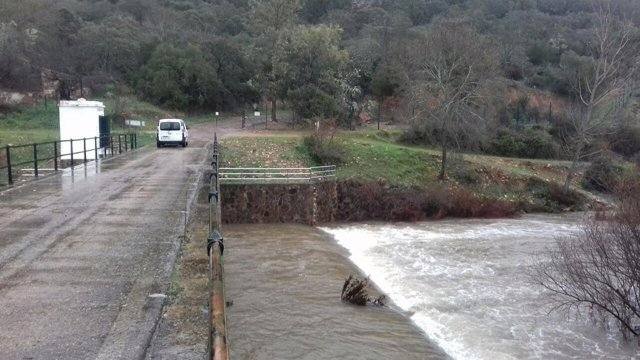 Embalse de Villar del Rey en Extremadura