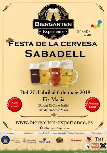 COMUNICADO: Oktoberfest Barcelona y Eventop Carpas celebrarán la primera edición del Biergarten Experience Sabadell 2018