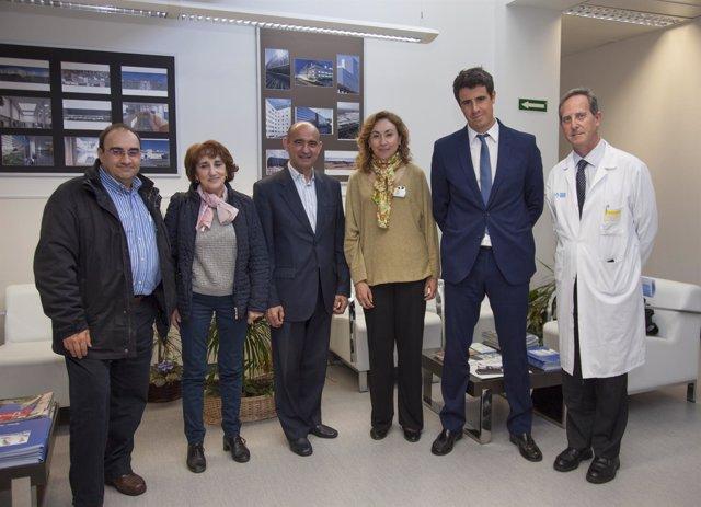 Organizaciones pacientes con María Martín
