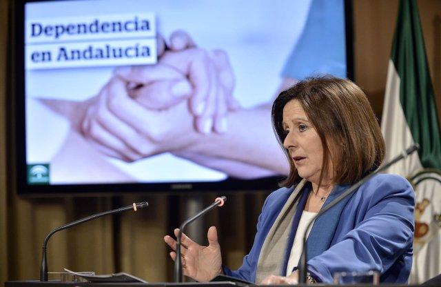 Sánchez Rubio en rueda de prensa tras el Consejo de Gobierno