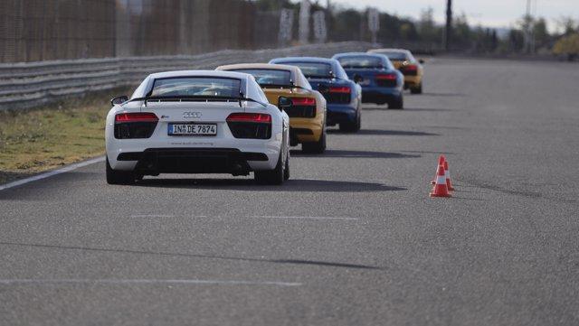 Curso de conducción de Audi