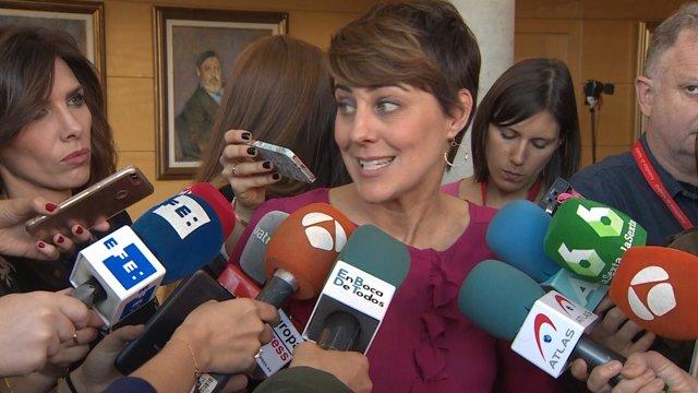 Ruiz-Huerta declara en los pasillos del Congreso