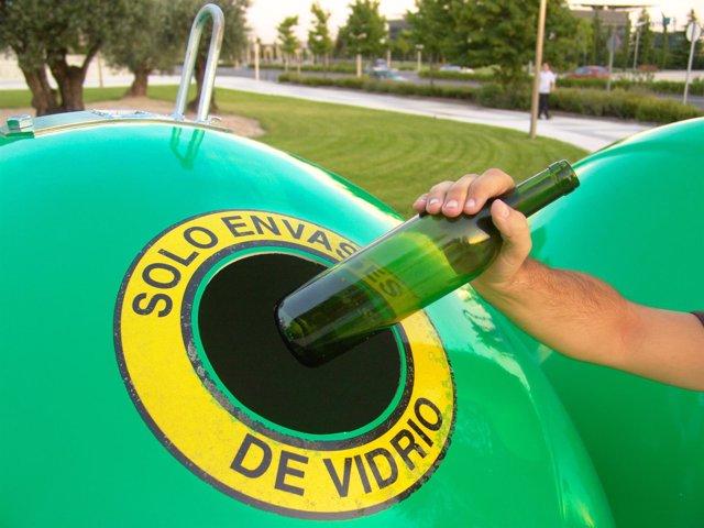 Ecovidrio envase vidrio reciclar reciclaje