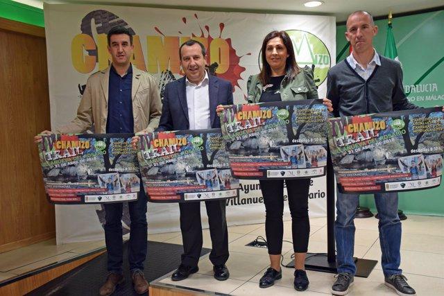 Campeonato de Andalucía de carreras por montaña en Villanueva del Rosario alcald