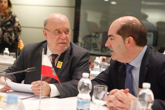 Sota asiste a la Conferencia Sectorial de Empleo y Asuntos Laborales.