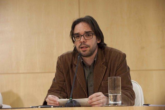 Gerente de la EMT, Álvaro Fernández Heredia