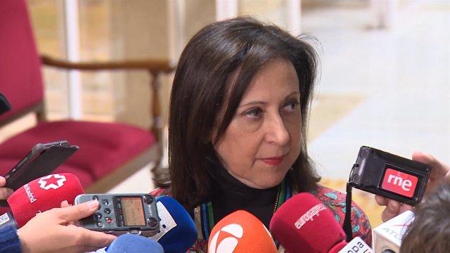 Margarita Robles declara sobre el máster de Cristina Cifuentes