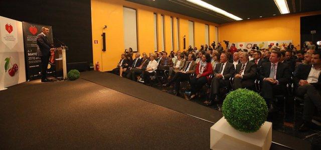 Sánchez habla en la presentación de Alicante Gastronómica