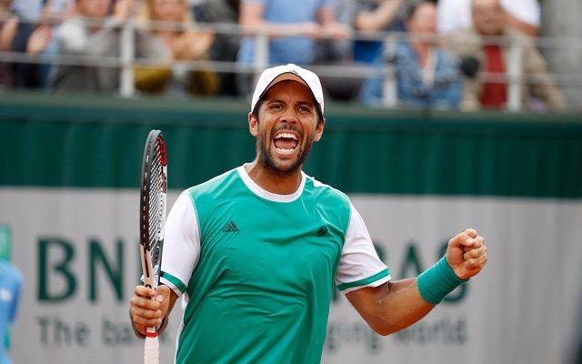 Fernando Verdasco en Roland Garros