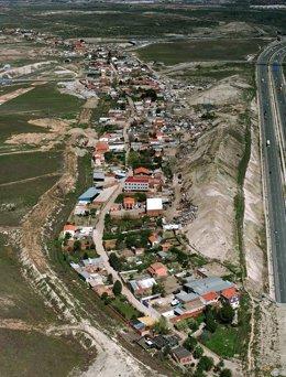 Un Tramo De La Cañada Real Galiana