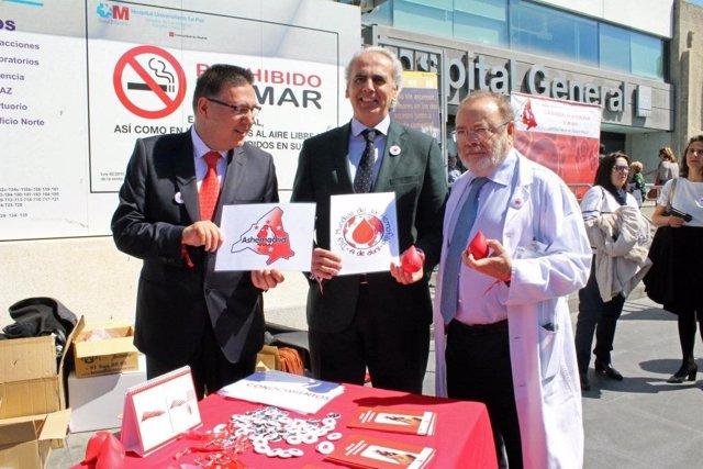 Día Mundial de la Hemofilia en el Hospital La Paz