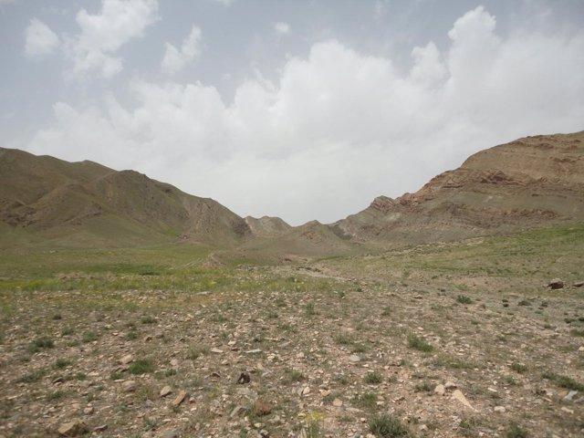 Zona de Irán donde se recogieron los sedimientos