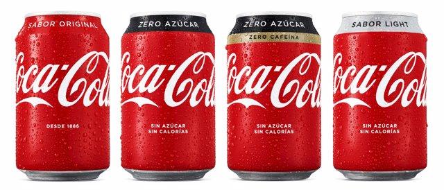 Nuevo envases de Coca-Cola