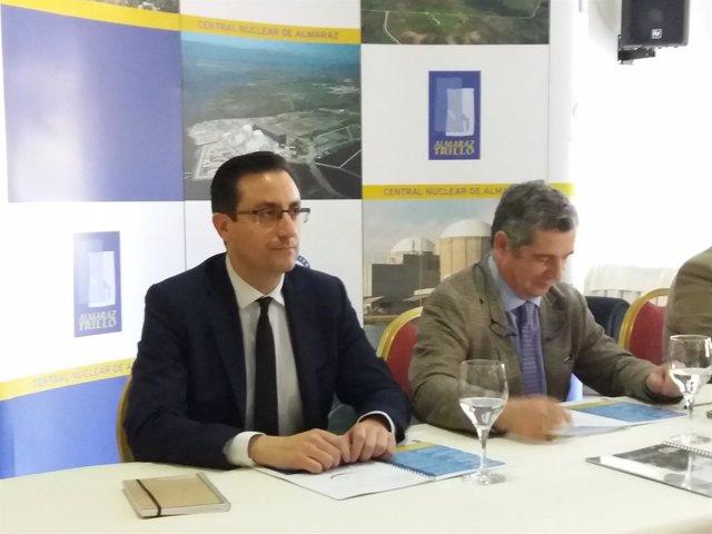 El director de la Central Nuclear de Almaraz, José Maria Bernaldo de Quirós