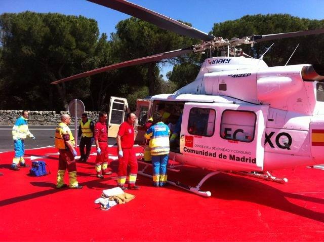 Un Helicóptero Del Summa