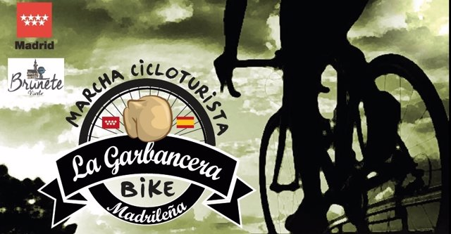 Cartel de La Garbancera Bike Madrileña
