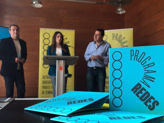 Rebeca Pérez presenta la nueva imagen y actividades del Programa 'Redes'