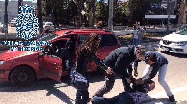 Detención a un grupo criminal organizado en El Puerto