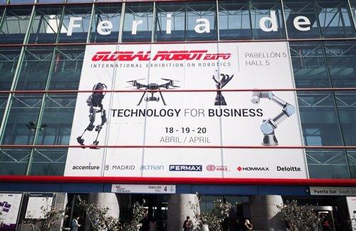Tercera edición de la feria de robótica Global Robot Expo