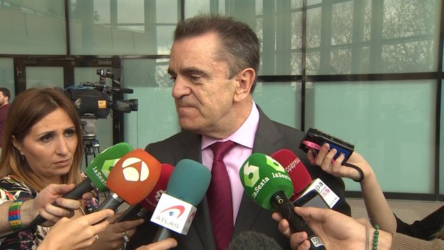 José Manuel Franco declara en los pasillos del Congreso
