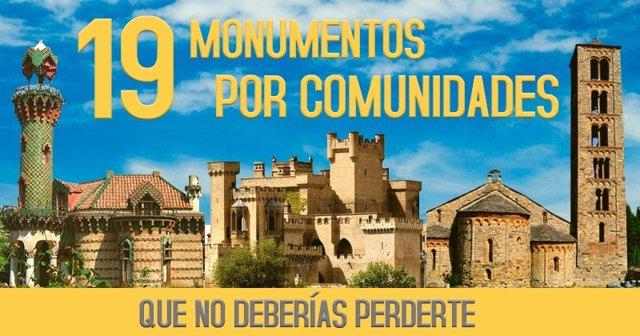 Monumentos españoles que hay que visitar