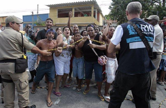 Tiroteo en un colegio en Río de Janeiro