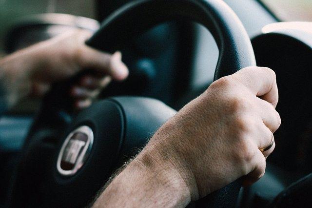 Conducir, coche, volante