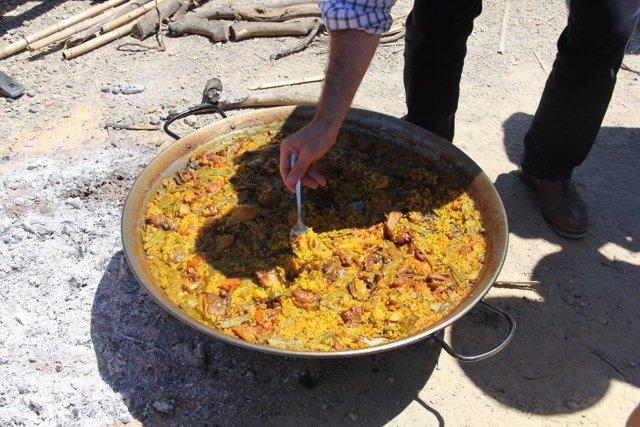 Imagen de archivo de una preparación de arroz