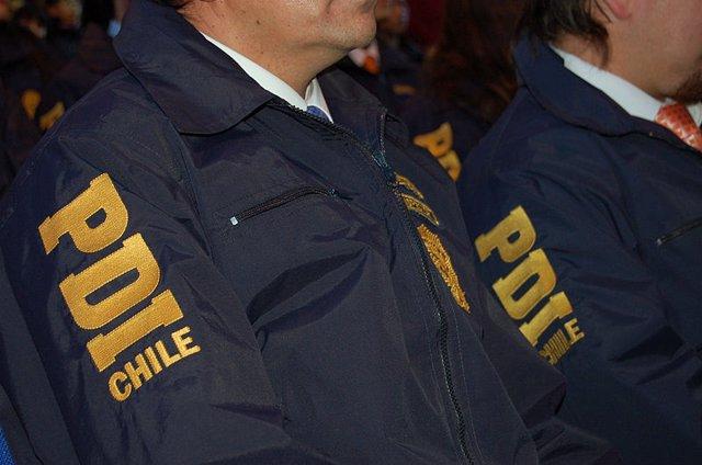 Policía de Investigaciones chilena