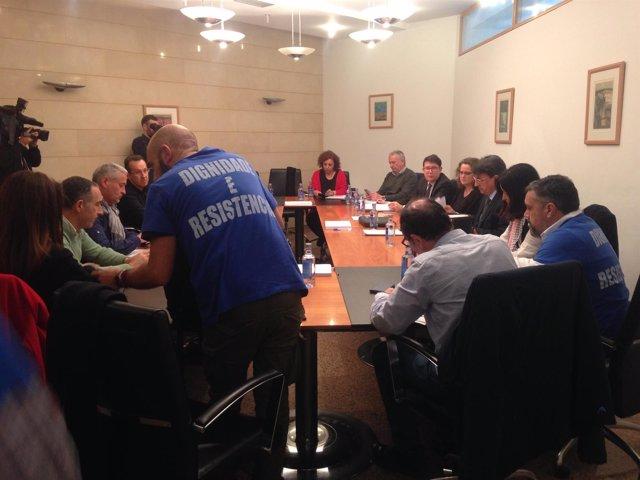 Sindicatos de justicia vuelven a sentarse con la Xunta el 18 de abril.