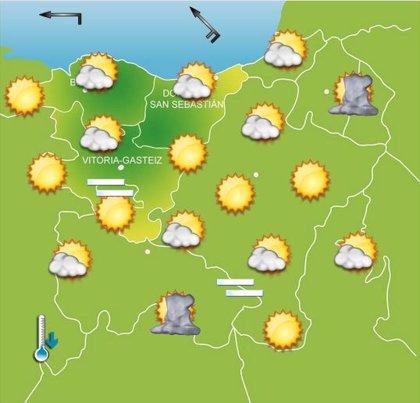 Previsiones meteorológicas del País Vasco para hoy, día 19