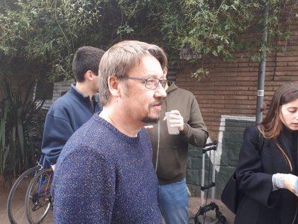 Domènech (CatECP) pide al soberanismo que aclare si tiene mayoría para una investidura